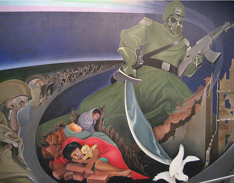 Denver international airport denver international for Denver mural conspiracy